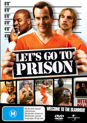 Let's Go To Prison on DVD image