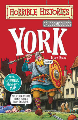 Gruesome Guides: York by Terry Deary image