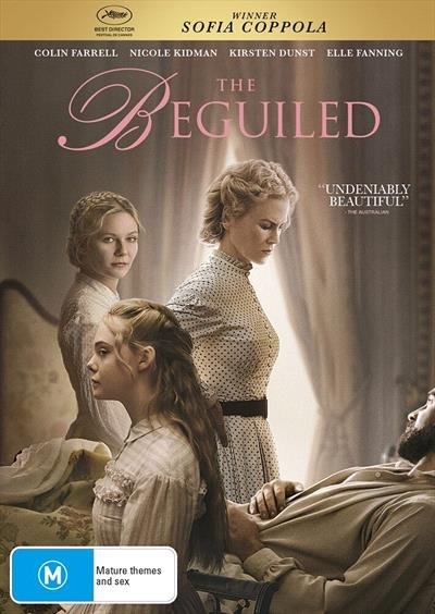 The Beguiled on DVD image