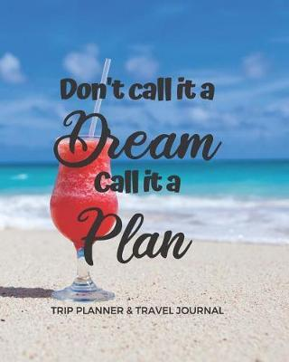 Trip Planner & Travel Journal by Real Me Books image