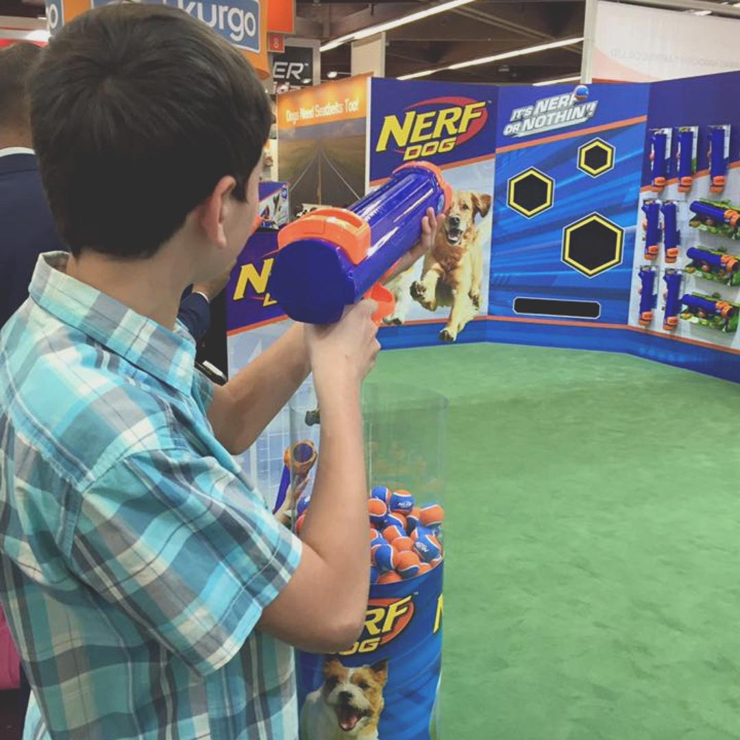 Nerf Dog Large Tennis Ball Blaster image