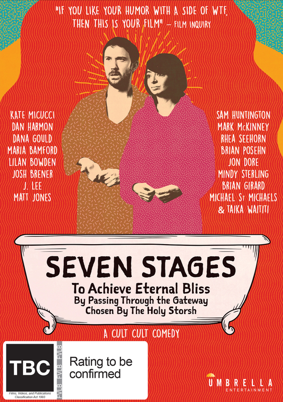 Seven Stages To Achieve Eternal Bliss By Passing Through The Gateway Chosen By The Holy Storsh on DVD