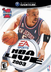 NBA Live 2003 for GameCube