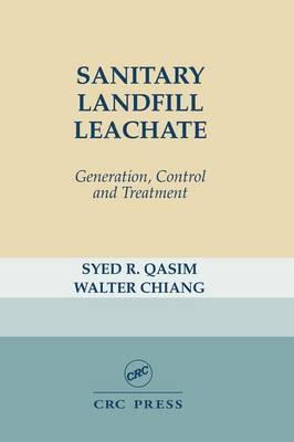 Sanitary Landfill Leachate by Syed R. Qasim