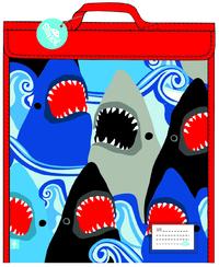 Spencil: Homework Bag - Sharks