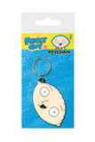 Family Guy: Stewie Face Rubber Keychain (6cm)
