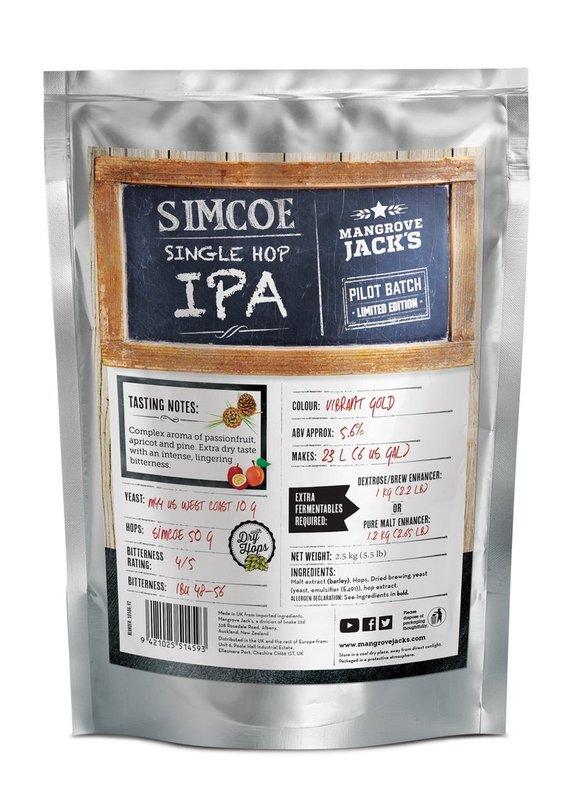 Mangrove Jack's Craft Series: Single Hopped IPA Simcoe (2.5kg)