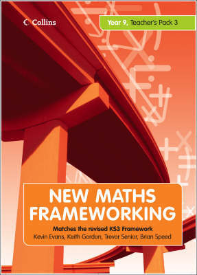 New Maths Frameworking Teacher 9.3 by Kevin Evans image