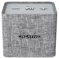Creative Nuno Micro Designer Cloth Bluetooth Speaker - Grey image