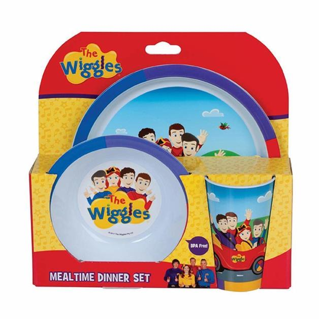 The Wiggles: 3 Piece Dinner Set