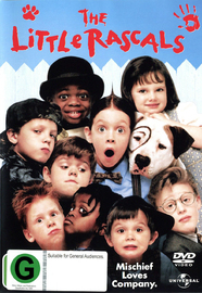 The Little Rascals on DVD image