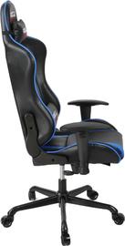 Gorilla Gaming Commander Chair - Blue & Black for  image