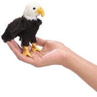 Folkmanis Mini Finger Puppet - Eagle