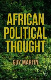 African Political Thought by G. Martin image