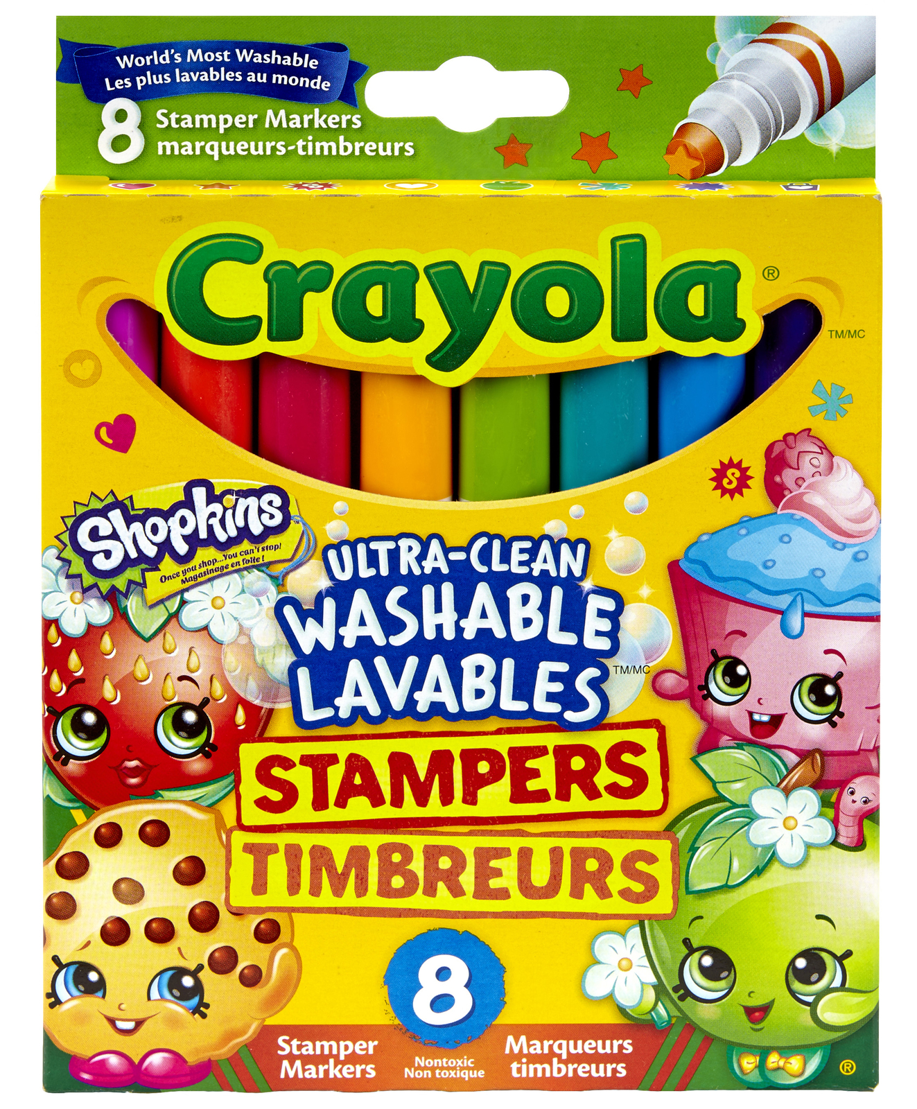Crayola: Shopkins Stamp Marker - 8 Pack image