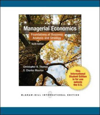 Managerial Economics by Christopher R. Thomas image