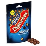 McVities Digestives Nibbles - Double Chocolate (120g)