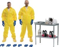 "Breaking Bad: Heisenberg & Jesse Hazmat Suit 12"" Action Figure Combo image"