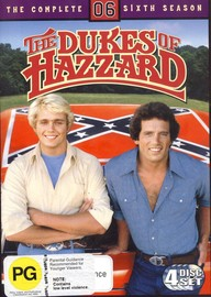 Dukes Of Hazzard, The - Complete Season 6 (4 Disc Set) on DVD image
