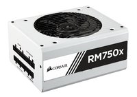 750W Corsair RMx White Series RM750x — 80 PLUS Gold Certified Fully Modular PSU