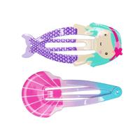 Pink Poppy: Mermaid Fun Shapes - Hairclip Set