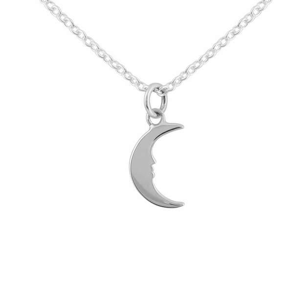 Midsummer Star: Lullaby Moon Necklace