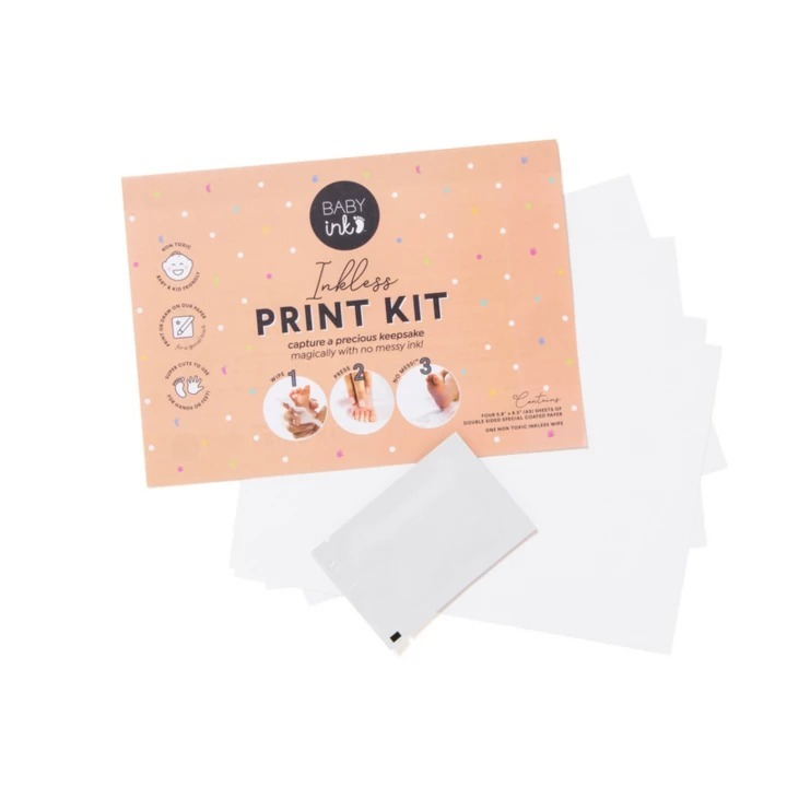 Baby Ink: Inkless Printing Kit - Pink image