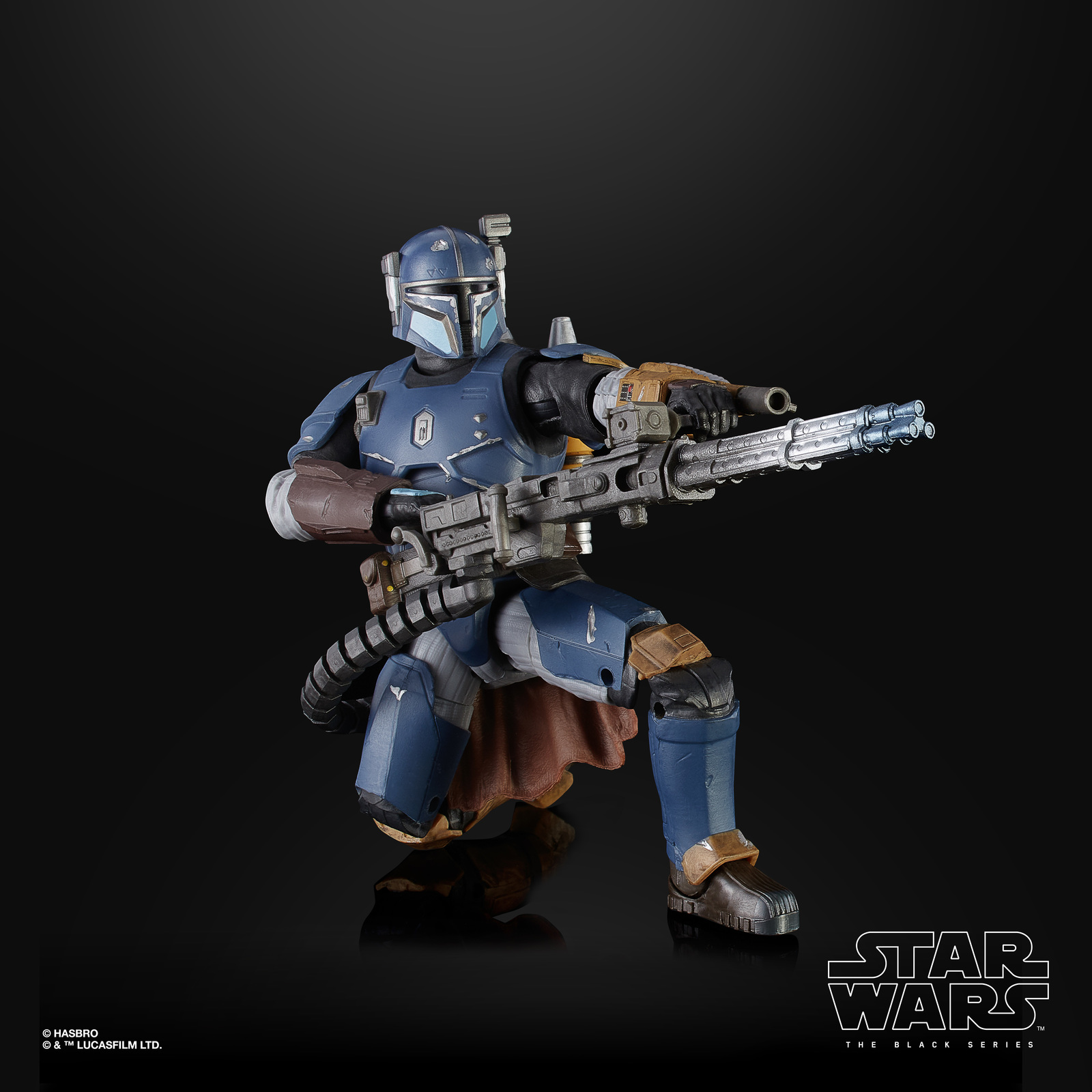 "Star Wars The Black Series: The Mandalorian Heavy Infantry - 6"" Action Figure image"