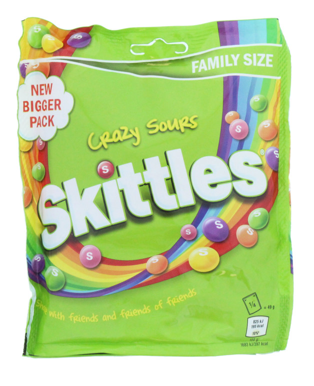 Skittles: Pouch Sours (196g)
