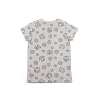 Cheeky Chimp: AOP Print Tee - Charcoal (Size 8)