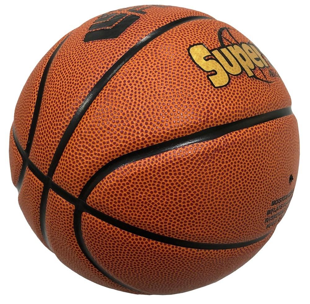 Silver Fern Basketball Match Ball - SuperStar (Size 6) image
