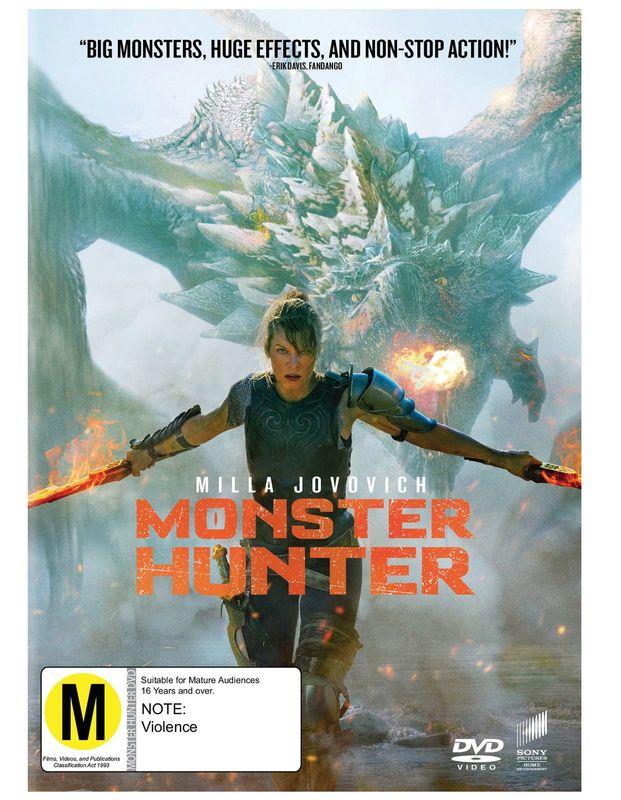 Monster Hunter on DVD