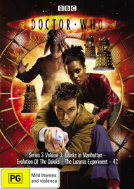 Doctor Who (2007) - Series 3: Vol. 3 on DVD image