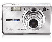 Kodak V550 (Silver) Digital Camera & Inkjet Paper Trial  5.0 Megapixel (Image Resolution) - 3X Optical & 5X Digital Zoom  Profes