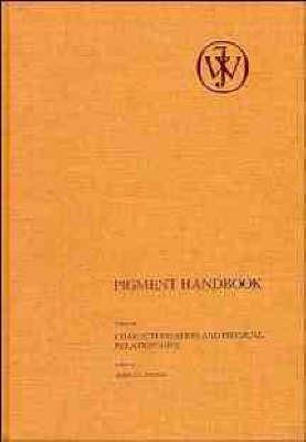 Pigment Handbook: v. 3