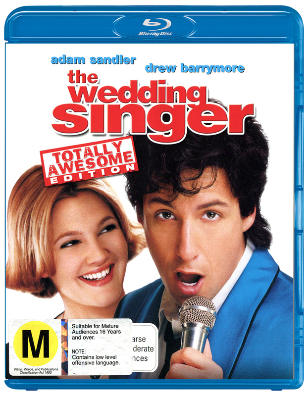 The Wedding Singer - Totally Awesome Edition on Blu-ray