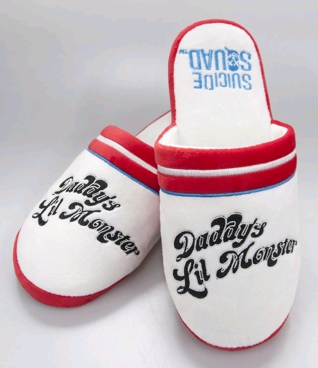 Suicide Squad - Harley Quinn Slippers (UK 2-4) image