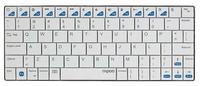 Rapoo Slim iPad Keyboard - White