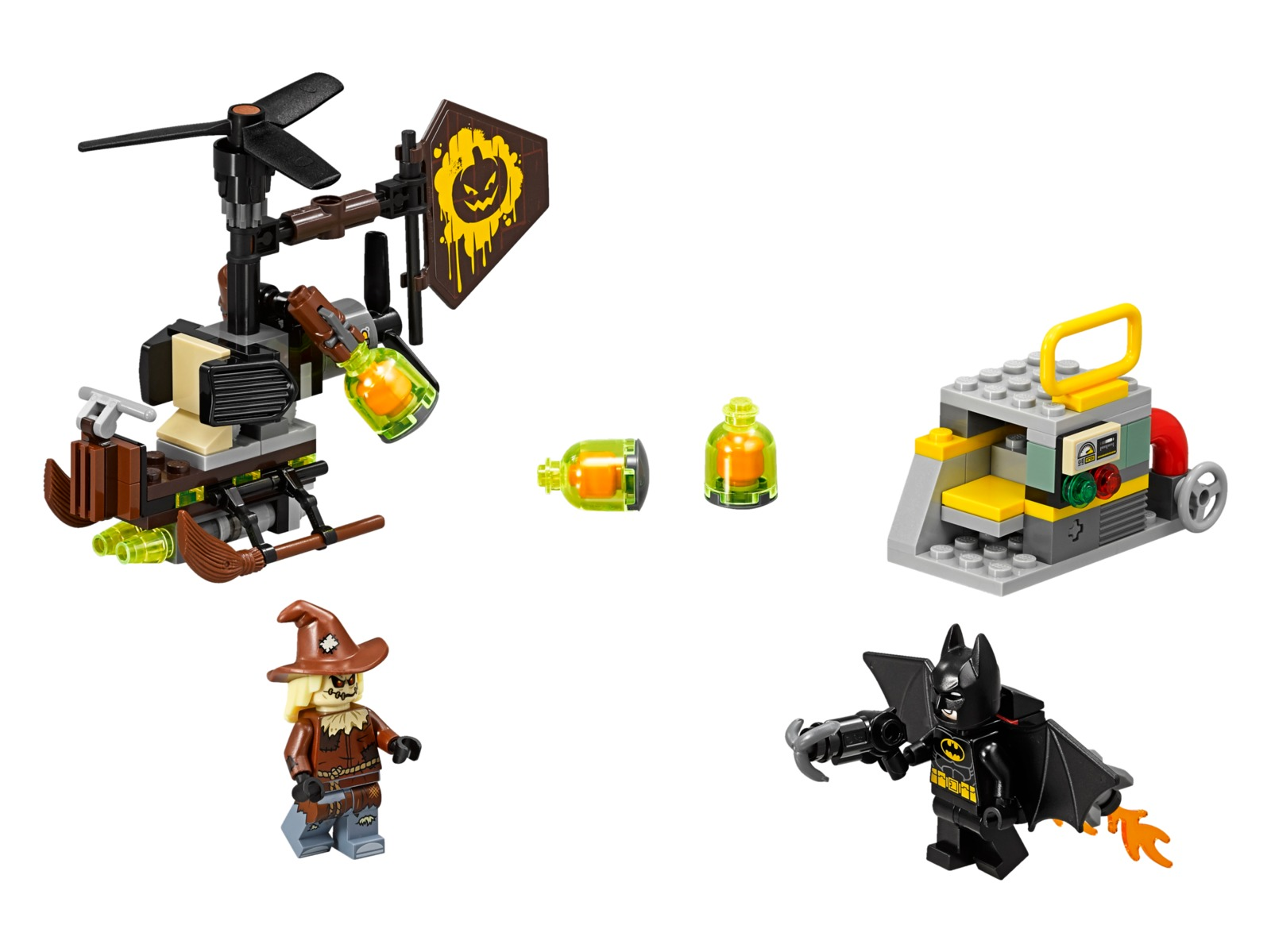 LEGO Batman Movie - Scarecrow Fearful Face-off (70913) image