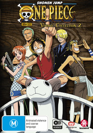 One Piece: Voyage - Collection 2 (Episodes 54-103) on DVD
