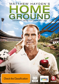 Matthew Hayden's Home Ground (2 Disc Set) on DVD