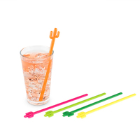 TrueZoo: Cactus Stir Sticks (Set of 5)
