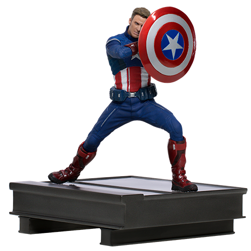Avengers: Endgame - 1/10 Captain America Duel (2023 ver.) - Battle Diorama Statue