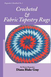 Crocheted and Fabric Tapestry Rugs by Diana Blake Gray image