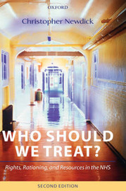 Who Should We Treat? by Christopher Newdick