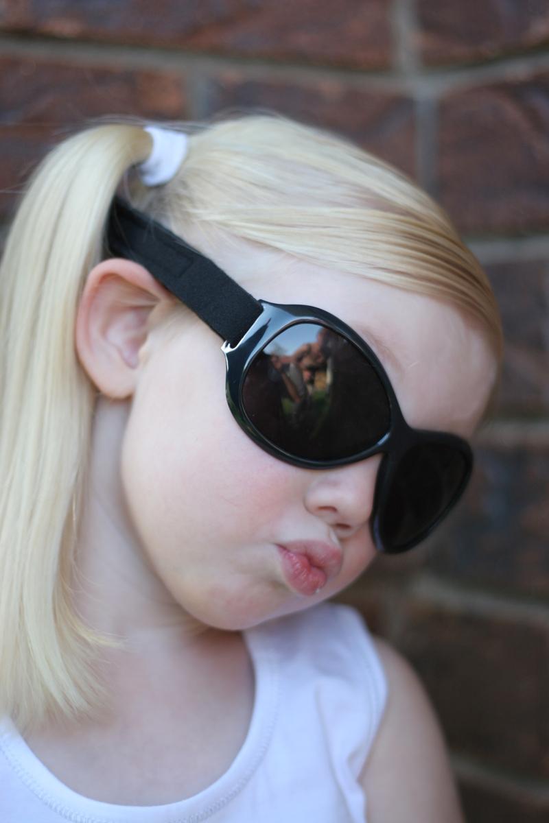 Baby Banz Retro Sunglasses (Midnight Black) image