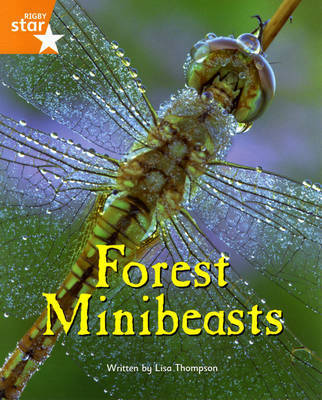 Fantastic Forest: Forest Minibeasts Orange Level Non-Fiction (Pack of 6) by Lisa Thompson
