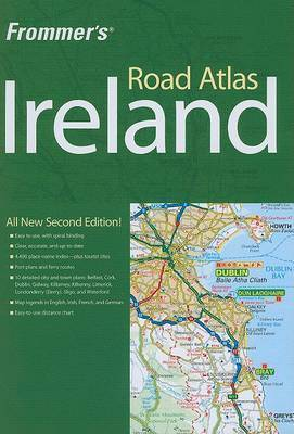 Frommer's Road Atlas Ireland by British Automobile Association