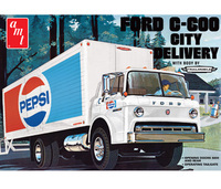 AMT Ford C600 Pepsi City Delivery Truck 1/25 Model Kit