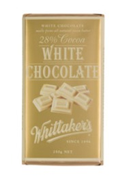 Whittakers White Chocolate Block (250g)